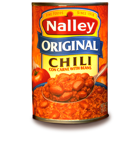 Nalley's Chili Can Label