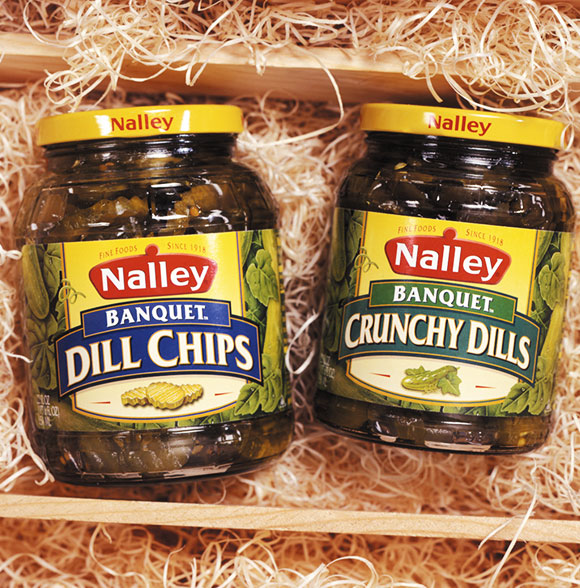 Nalley's Pickles Packaging