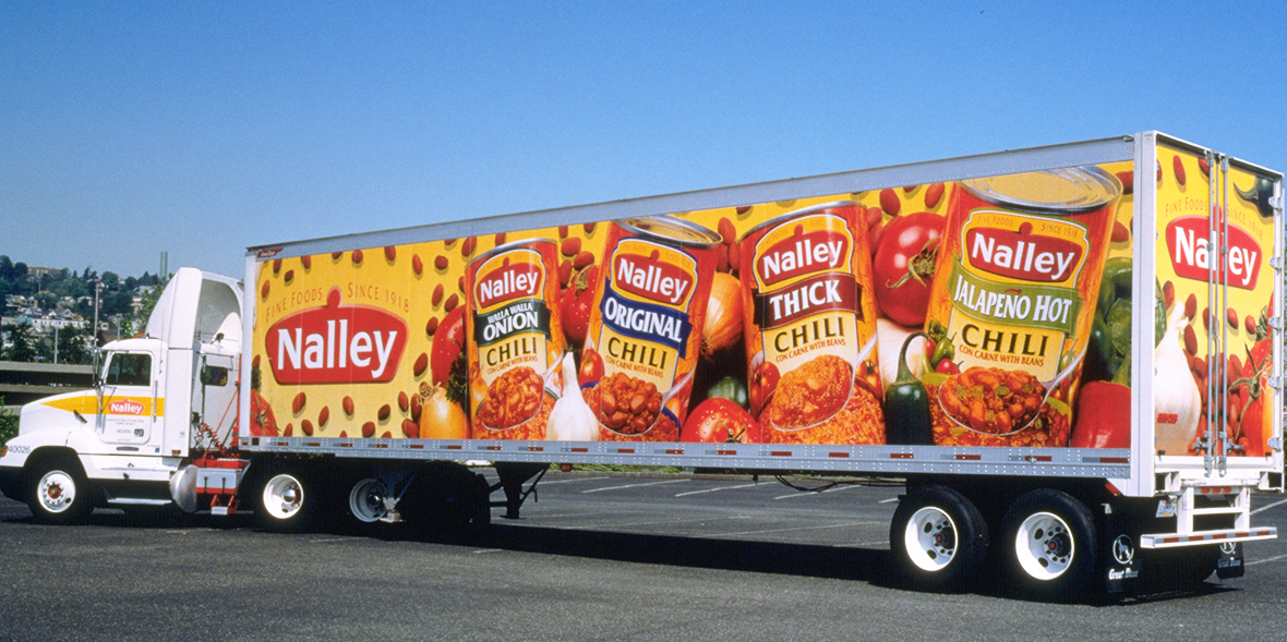 Nalley's Truck Wrap