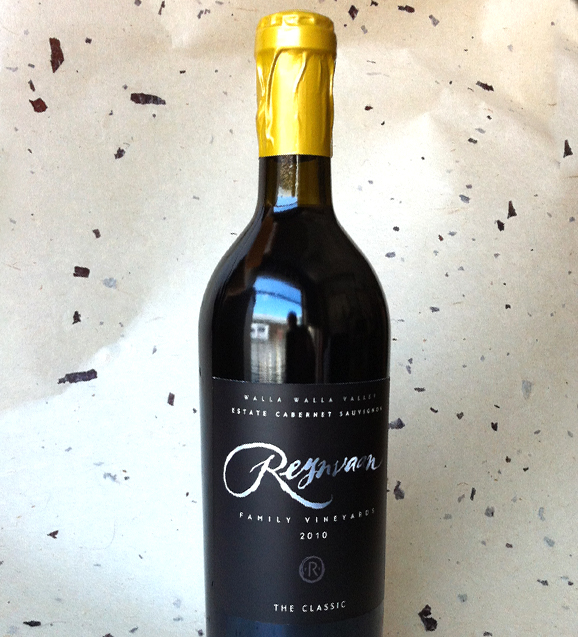 Reynvann Family Vineyards Bottle, Label and Font