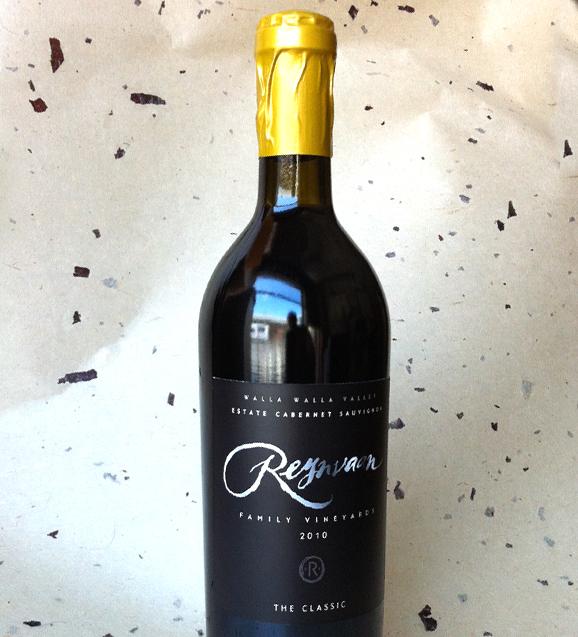 Reynvann Family Vineyards Bottle, Label and Font