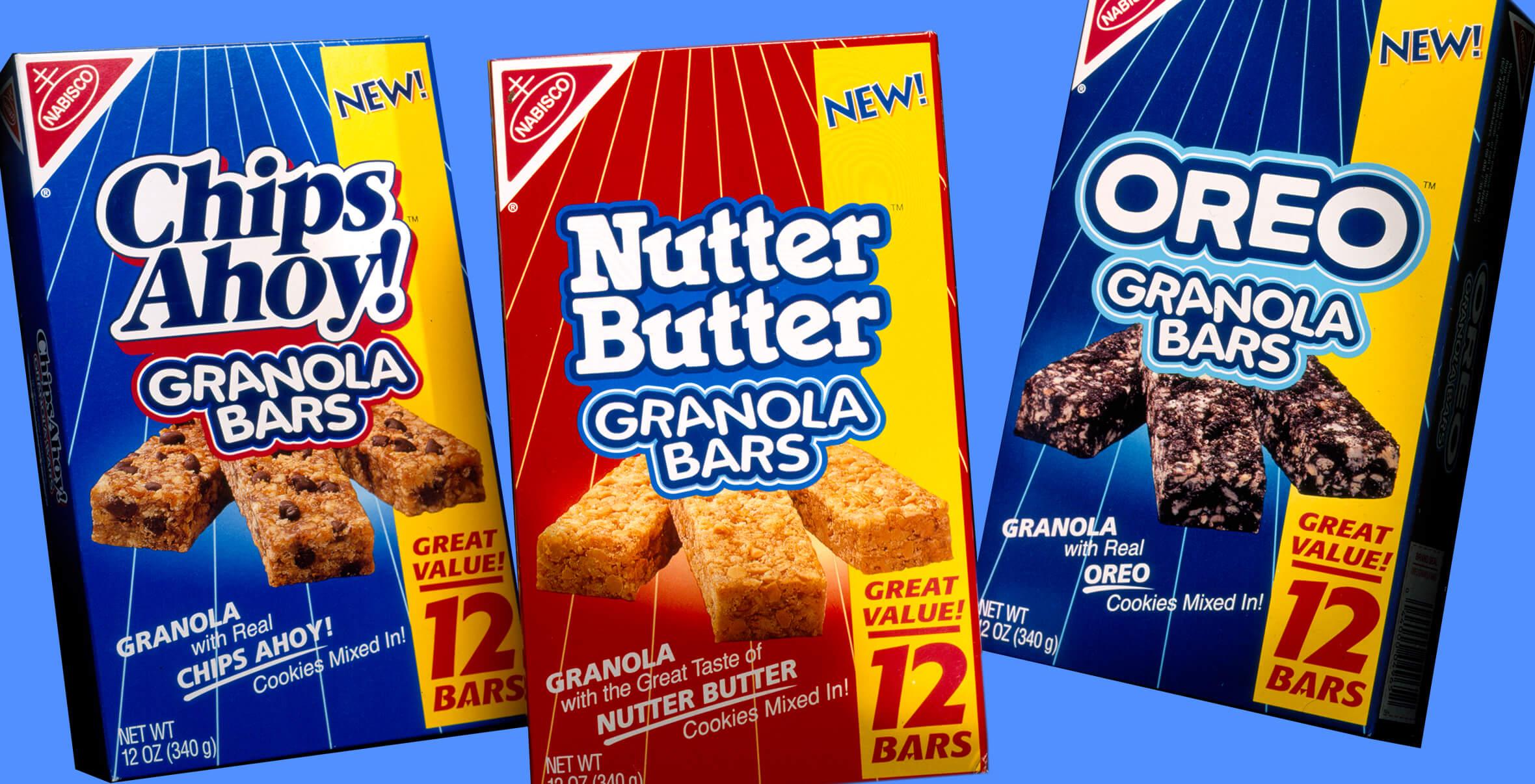 Nabisco Granola Bars Packaging