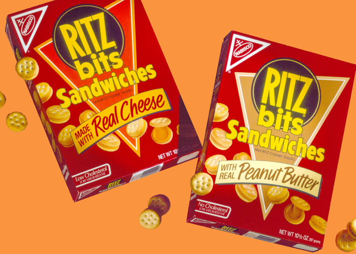Nabisco Ritz Bits Sandwiches Packaging