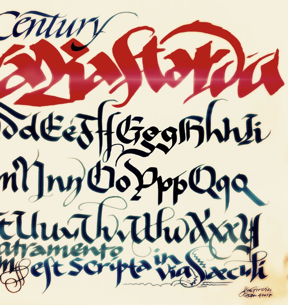 The Bastard Letter | The Calligraphy of The Game of Thrones
