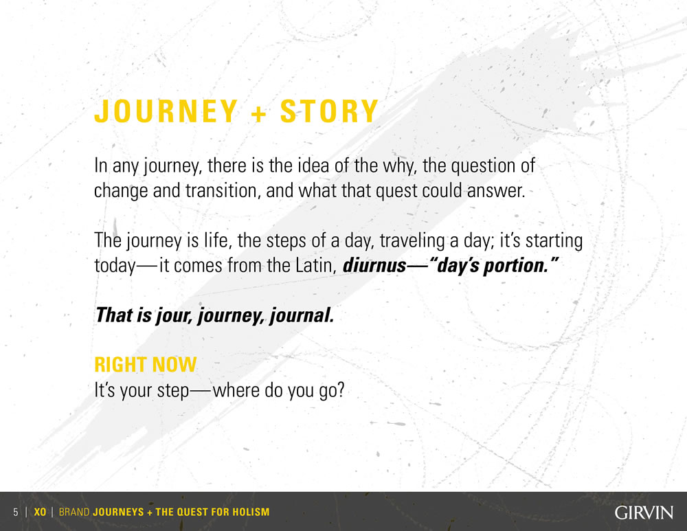 WHAT IS YOUR DESTINY? DESIGNING JOURNEYS AND EXPLORATIONS