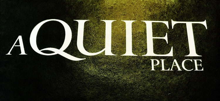 "BRANDING THE FEAR OF SOUND | DESIGNING MOVIE LOGOS FOR ""A QUIET PLACE."""