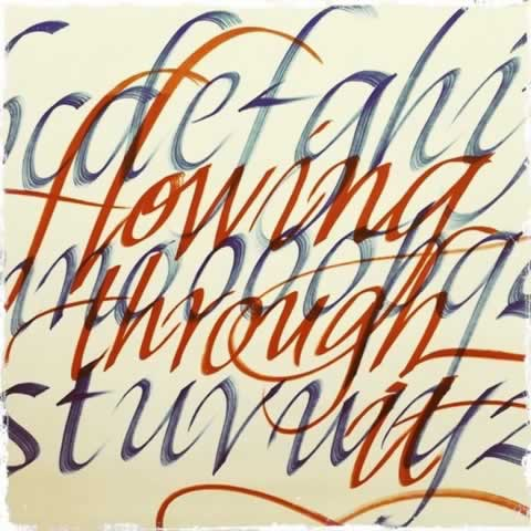 THE FOCUS OF THE STROKE, SYMBOLS AND WORDS WELL DRAWN: MEDITATIONS ON CALLIGRAPHY