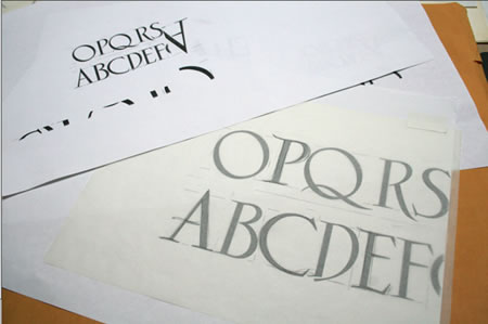 DESIGNING CUSTOMIZED BRAND FONTS FOR PROJECTS | ALPHABETICAL BRAND STRATEGY