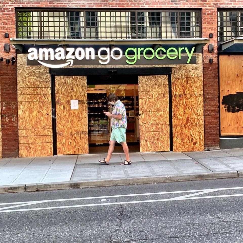 GO GO RODEO | AMAZON'S GO GROCERY