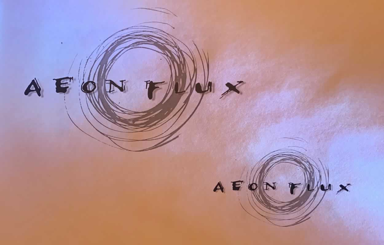 ILLUSTRATIVE GRAPHIC IDENTITY | THE LAYERED LOGOS OF AEON FLUX