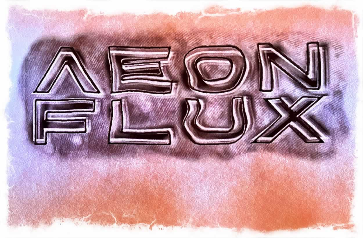 ILLUSTRATIVE GRAPHIC IDENTITY | THE LAYERED LOGOS OF AEON FLUX