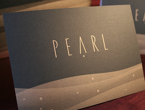 Pearl Restaurant Collateral