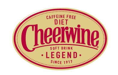 Cheerwine Label Diet Caffine Free Label