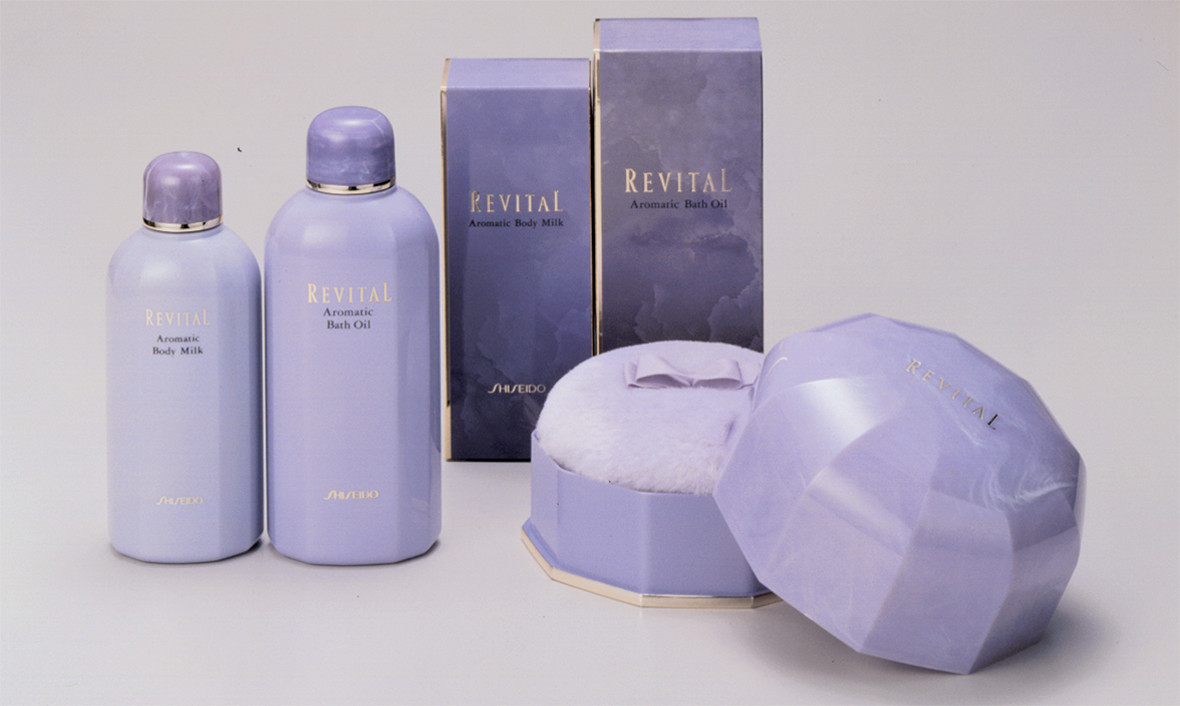 Shiseido Revital Packaging